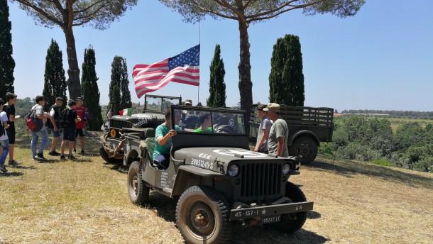 Ripercorrere la storia, viaggio d'istruzione nei luoghi della Battaglia di Aprilia